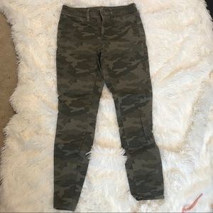 Camo jeans from target